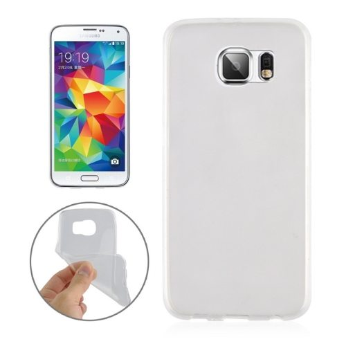 0.3mm Ultrathin Soft TPU Protective Cover for Samsung Galaxy S6 (Transparent)