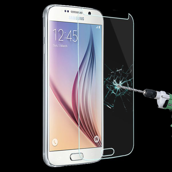 Tempered Glass LCD HD Premium Screen Protector Guard Film for Samsung Galaxy S6