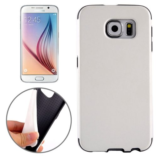 Superior Quality  PU Leather Cover Protective Case for Samsung Galaxy S6 /G920(White)