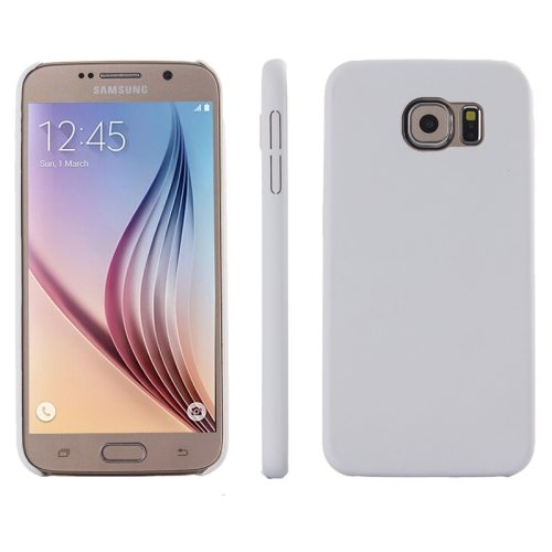 Ultrathin Protective Leather Back Case Cover for Samsung Galaxy S6 (White)