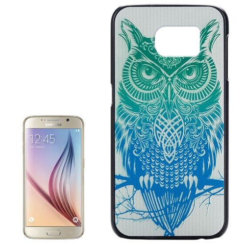 PC Ultra Slim Hard Back Case Protective Cover for Samsung Galaxy S6 (Owl)