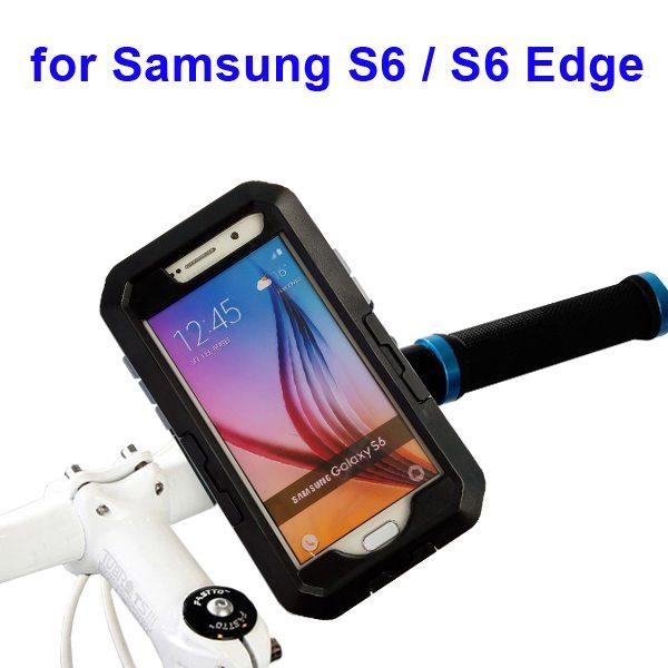 Outdoor Sports Waterproof Case Bike Mount Holder for Samsung Galaxy S6/S6 Edge