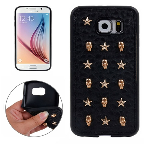 Special Rivet Style TPU Case for Samsung Galaxy S6 (Pattern 4)