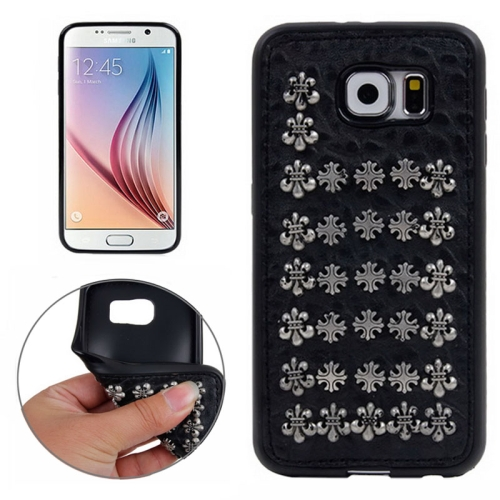 Special Rivet Style TPU Case for Samsung Galaxy S6 (Pattern 8)