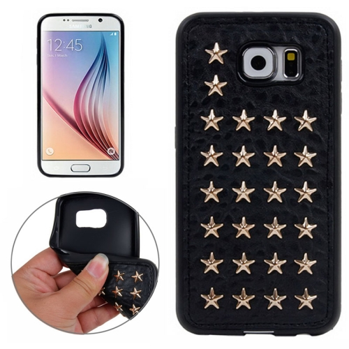 Special Rivet Style TPU Case for Samsung Galaxy S6 (Pattern 15)