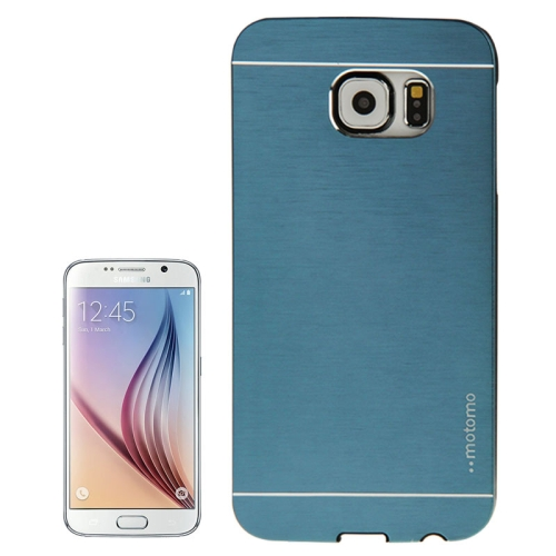 Brushed Texture Protective Hard Plastic Case for Samsung Galaxy S6 (Atrovirens)