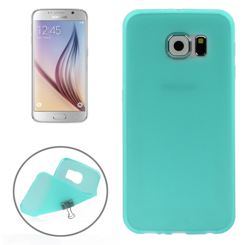 Solid Color Design TPU Protective Back Cover for Samsung Galaxy S6 (Green)