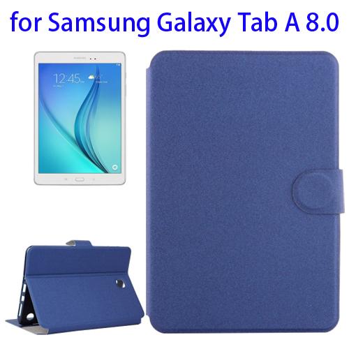 Golden Sands Beach Texture Horizontal Flip Leather Case for Samsung Galaxy Tab A 8.0 (Blue)
