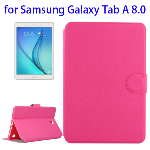 Golden Sands Beach Texture Horizontal Flip Leather Case for Samsung Galaxy Tab A 8.0 (Rose)