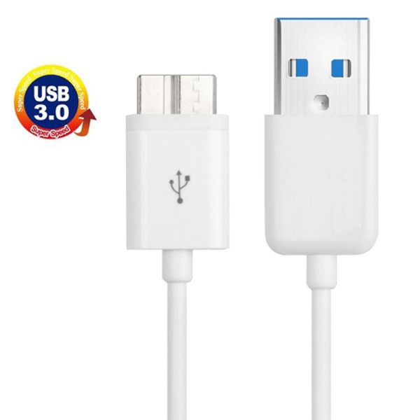 1m Length USB 3.0 Charging Data Transfer Sync Cable for Samsung Galaxy S5 / G900/ Note 3 / N9000 (White)