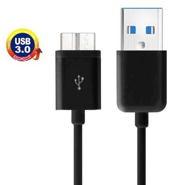1m Length USB 3.0 Charging Data Transfer Sync Cable for Samsung Galaxy S5 / G900/ Note 3 / N9000 (Black)