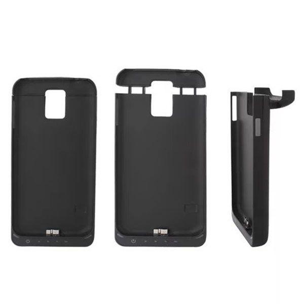 4800mAh Power Bank Charging Backup External Battery Case for Samsung Galaxy S5 (Black)