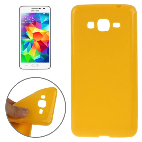 High Quality Glossy Protective TPU Case for Samsung Galaxy Grand Prime/ G530/ G5308W (Orange)