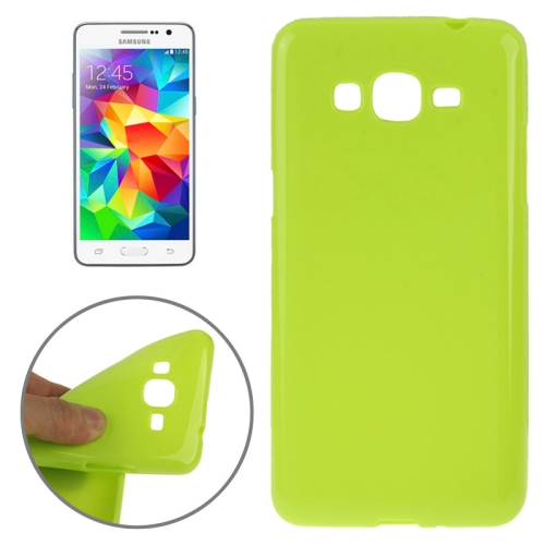 High Quality Glossy Protective TPU Case for Samsung Galaxy Grand Prime/ G530/ G5308W (Green)