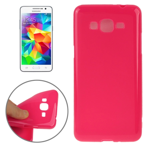 High Quality Glossy Protective TPU Case for Samsung Galaxy Grand Prime/ G530/ G5308W (Rose)