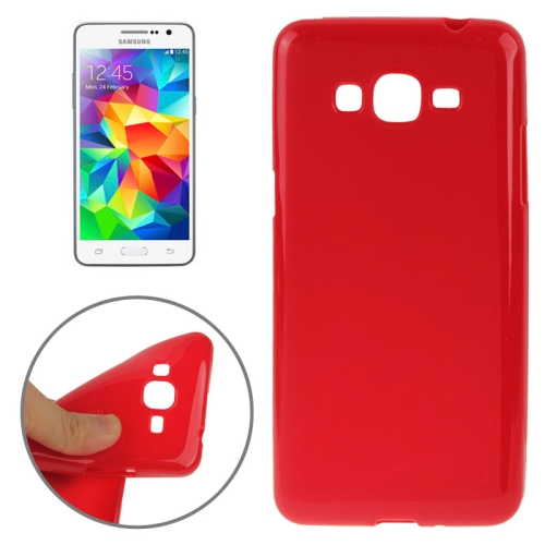 High Quality Glossy Protective TPU Case for Samsung Galaxy Grand Prime/ G530/ G5308W (Red)