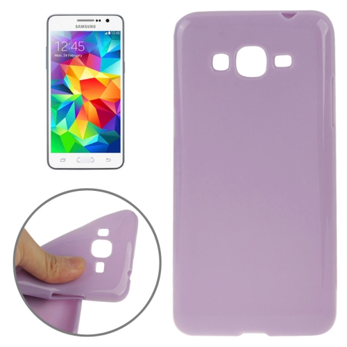 High Quality Glossy Protective TPU Case for Samsung Galaxy Grand Prime/ G530/ G5308W (Purple)