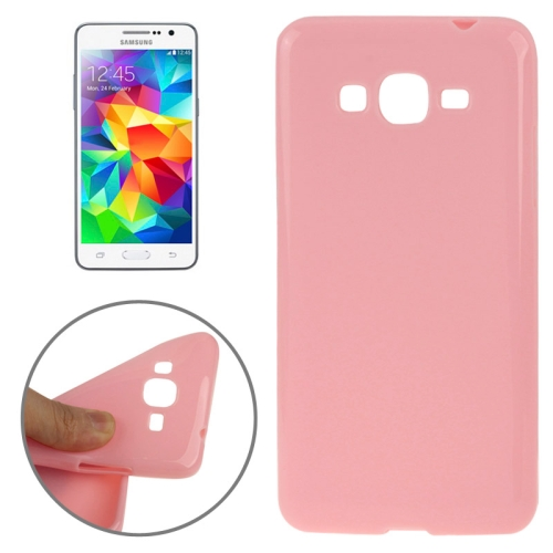 High Quality Glossy Protective TPU Case for Samsung Galaxy Grand Prime/ G530/ G5308W (Pink)