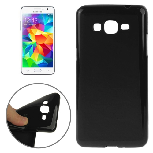 High Quality Glossy Protective TPU Case for Samsung Galaxy Grand Prime/ G530/ G5308W (Black)