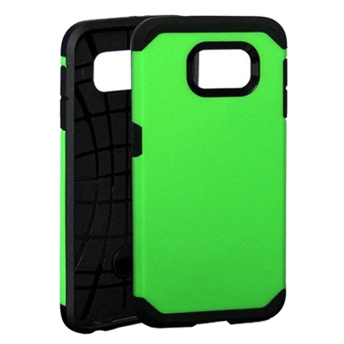 Slim Armor Soft TPU and Hard Protective Hybrid Case for Samsung Galaxy S6/ G920 (Green)