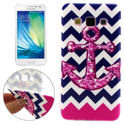Cheap Wholesale Price Various Designs Protective TPU Case for Samsung Galaxy A7 (Concise Style Symbol Pattern)