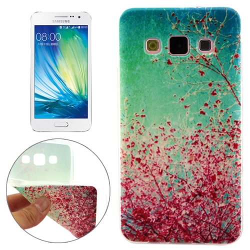 Cheap Wholesale Price Various Designs Protective TPU Case for Samsung Galaxy A7 (Plant Pattern)
