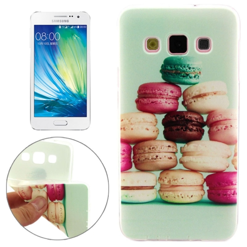Cheap Wholesale Price Various Designs Protective TPU Case for Samsung Galaxy A7 (Cookies Pattern)
