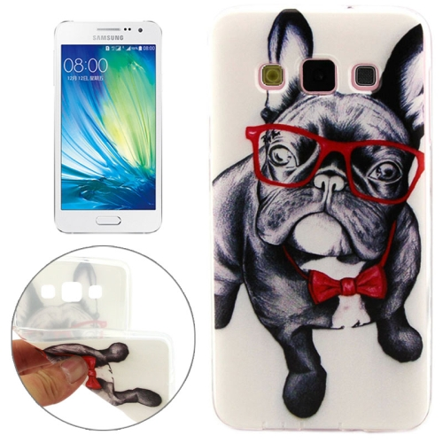 Cheap Wholesale Price Various Designs Protective TPU Case for Samsung Galaxy A7 (Dog Pattern)