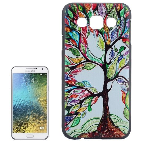 Various Designs Protective Hard PC Case for Samsung Galaxy E7 (Tree Pattern)