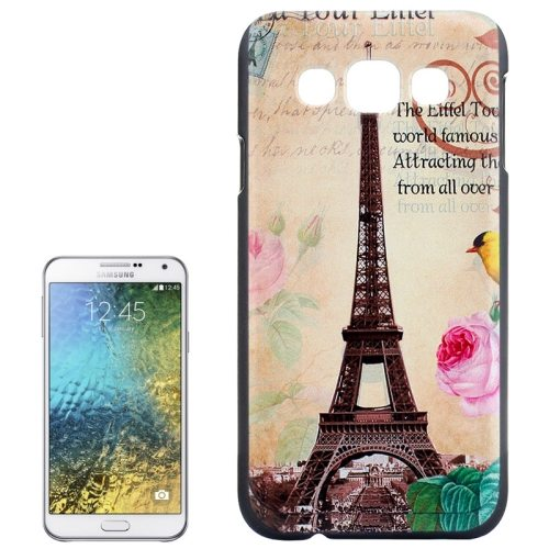 Various Designs Protective Hard PC Case for Samsung Galaxy E7 (Tower Pattern)