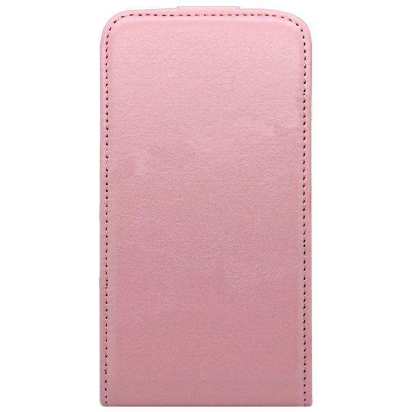 Newest Crazy Horse Texture Vertical Flip PU Leather Cover Case for Samsung Galaxy S6 (Pink)