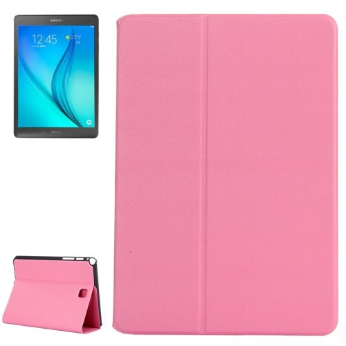 Golden Sands Beach Texture Leather Case for Samsung Galaxy Tab A 8.0 / T350 (Pink)