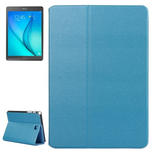 Golden Sands Beach Texture Leather Case for Samsung Galaxy Tab A 8.0 / T350 (Blue)