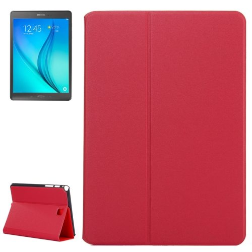 Golden Sands Beach Texture Leather Case for Samsung Galaxy Tab A 8.0 / T350 (Red)