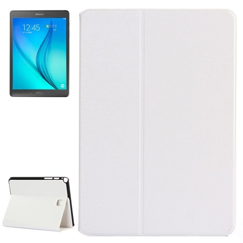Golden Sands Beach Texture Leather Case for Samsung Galaxy Tab A 8.0 / T350 (White)
