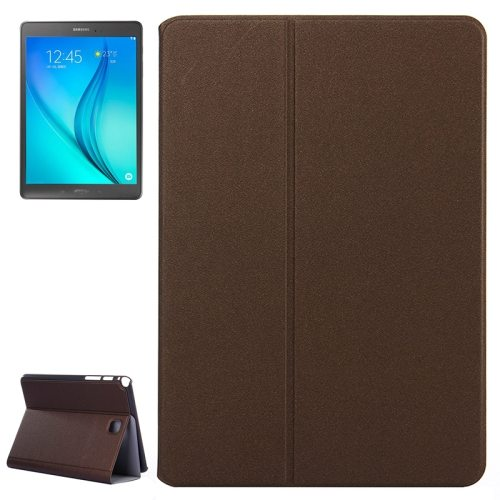 Golden Sands Beach Texture Leather Case for Samsung Galaxy Tab A 8.0 / T350 (Brown)