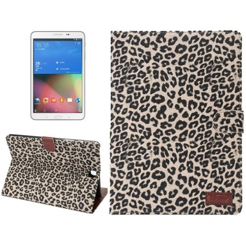 Leopard Pattern PU Leather Flip Case for Samsung Galaxy Tab A 8.0/ T350 (Brown)