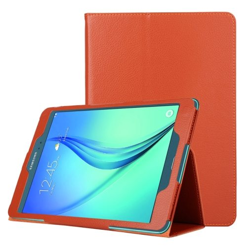 Flip Stand PU Leather Tablet Case for Samsung Galaxy Tab A 8.0 T350 (Orange)