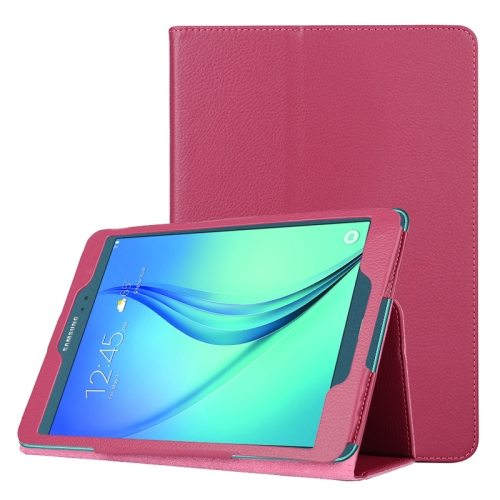 Flip Stand PU Leather Tablet Case for Samsung Galaxy Tab A 8.0 T350 (Rose)