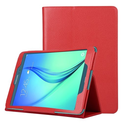 Flip Stand PU Leather Tablet Case for Samsung Galaxy Tab A 8.0 T350 (Red)
