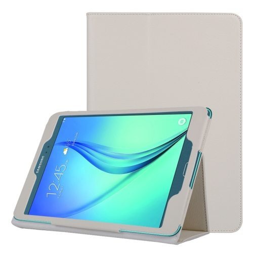Flip Stand PU Leather Tablet Case for Samsung Galaxy Tab A 8.0 T350 (White)