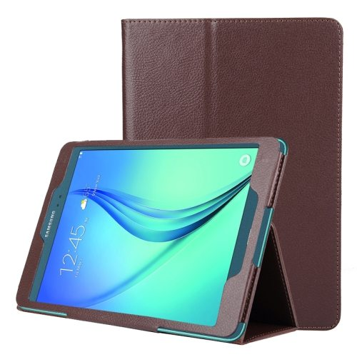 Flip Stand PU Leather Tablet Case for Samsung Galaxy Tab A 8.0 T350 (Brown)