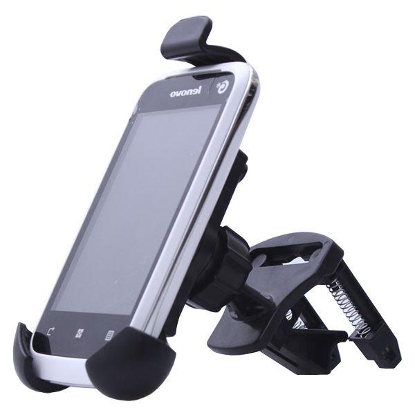 360 Degree Rotatable Universal GPS Car Air Vent Mount Holder (Black)
