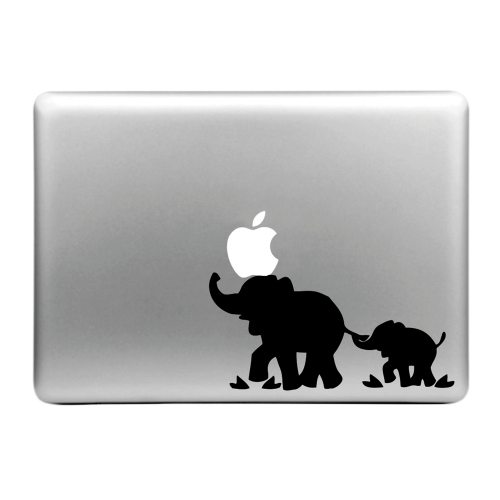 Hat-Prince Love Pattern Removable Decorative Skin Sticker for MacBook Air / Pro / Pro with Retina Display (Elephants)