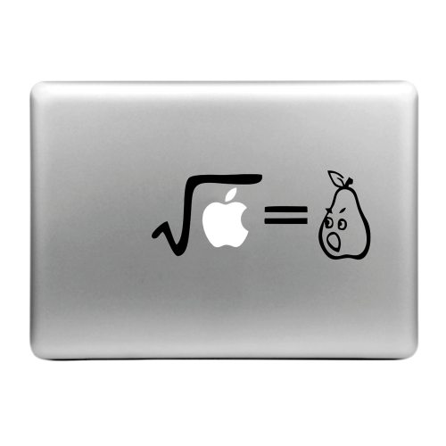 Hat-Prince Love Pattern Removable Decorative Skin Sticker for MacBook Air / Pro / Pro with Retina Display (Square Root)