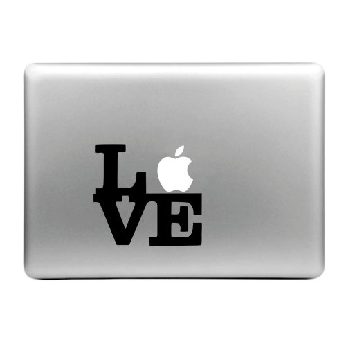 Hat-Prince Love Pattern Removable Decorative Skin Sticker for MacBook Air / Pro / Pro with Retina Display (Love)