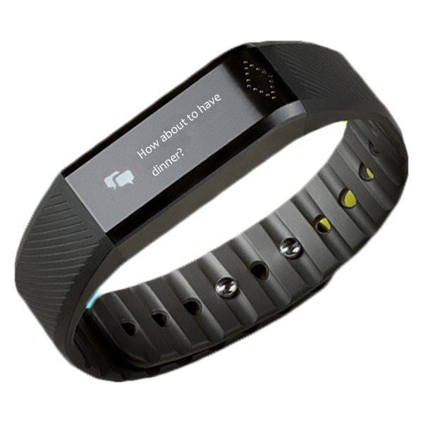 0.88 Inch Display Screen Ultrathin Healthy Bracelet Bluetooth Smart Tracker Bracelet