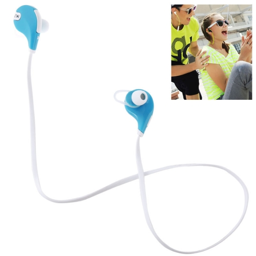JOGGER Bluetooth V4.0 Wireless Stereo Headset for Moblie Phones (Blue)