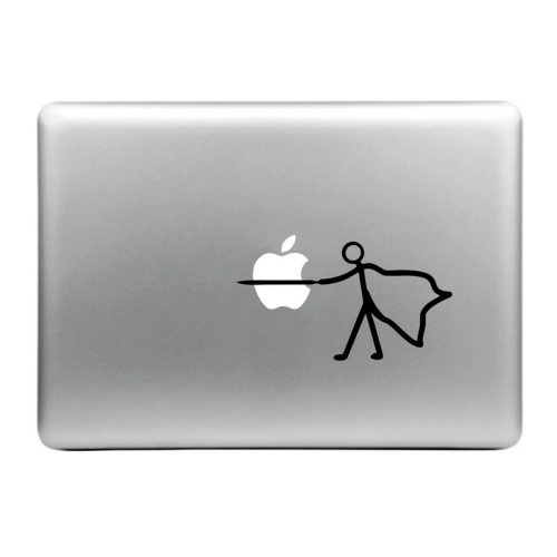 Creative Pattern Decorative Skin Sticker for MacBook Air / Pro / Pro with Retina Display