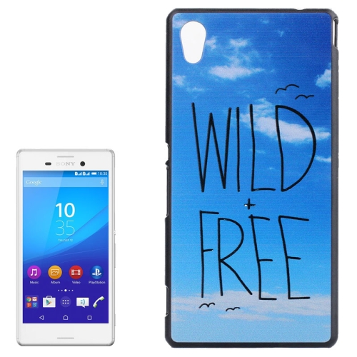 Smooth Surface Protetive Hard PC Case for Sony Xperia M4 Aqua (Blue Sky Pattern)